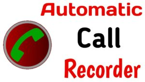 MODDED version of Automatic call recorder