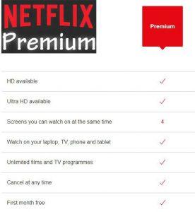 Netflix Premium Free Accounts (Email & Pass)[Updated & 100