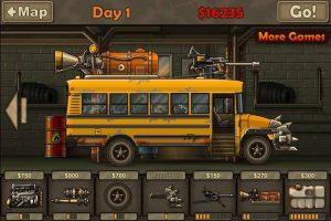 Modified Bus in Earn to die 2 MOD APK
