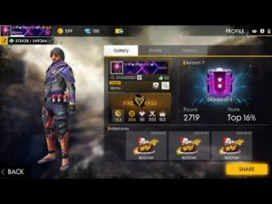 Free Fire MOD APK New Skins, speed