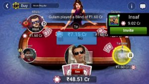 Teen Patti Gold Gameplay