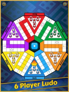 6 vs 6 players in ludo king