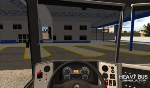 download Heavy Bus Simulator mod apk